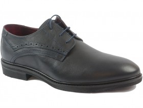obuvki-Мъжки обувки сини 9828