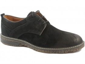 obuvki-Мъжки обувки черни 9829