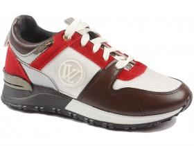 obuvki-Дамски обувки червени 9846