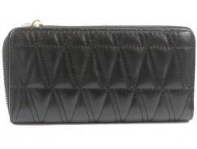 обувки-Дамско портмоне черно 9864