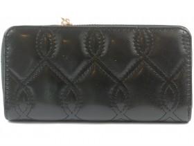 Дамско портмоне черно 9865 - obuvki
