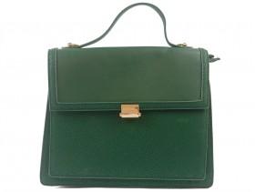 obuvki-Дамска чанта зелена 9868