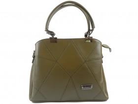 Дамска чанта зелена 9887 - obuvki
