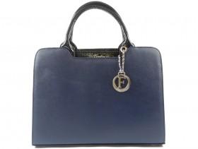 obuvki-Дамска чанта синя 9891