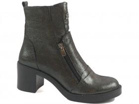 Дамски боти сиви 9895 - obuvki