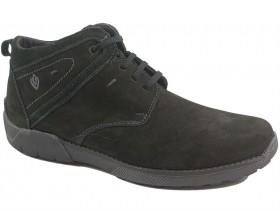 обувки-Мъжки боти черни 9927