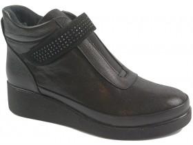 Дамски боти черни 9947 - obuvki