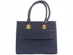 obuvki-Дамска чанта синя 9953
