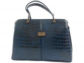 obuvki-Дамска чанта синя 9963