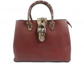 обувки-Дамска чанта бордо 9882