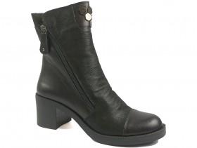 Дамски боти черни 9996 - obuvki