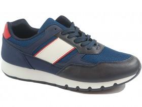 Мъжки обувки сини 10027 - obuvki