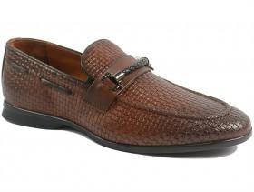 obuvki-Мъжки обувки кафяви 10082