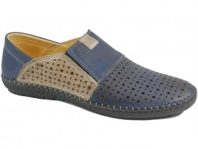 Мъжки обувки сини 10115 - obuvki
