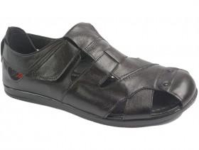obuvki-Мъжки сандали черни 10123