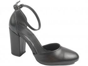 обувки-Дамски обувки черни 10126