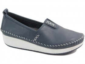 obuvki-Дамски обувки сини 10175