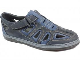 obuvki-Мъжки обувки сини 10194