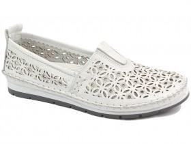Дамски обувки бели 10240 - obuvki