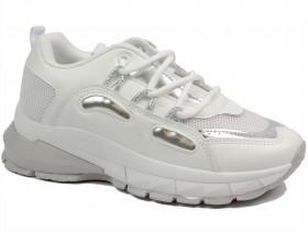 Дамски обувки бели 10264