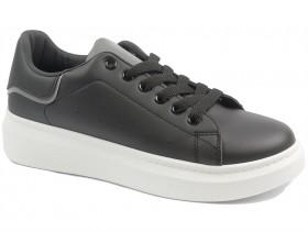 obuvki-Дамски обувки черни 10277