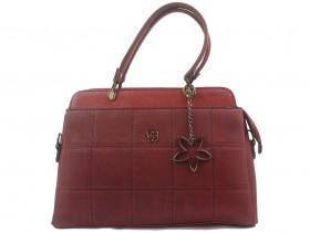 Дамска чанта бордо 10279