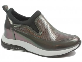 obuvki-Дамски обувки сиви 10281