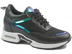 obuvki-Дамски обувки черни 10282