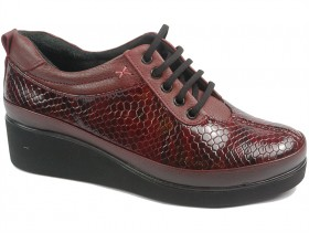 Дамски обувки бордо 10298 - obuvki