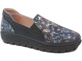 obuvki-Дамски обувки сини 10300