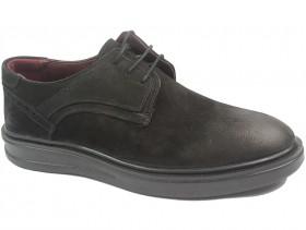 Мъжки обувки черни 10308 - obuvki
