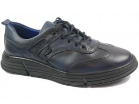 Мъжки обувки сини 10309 - obuvki