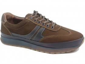 Мъжки обувки кафяви 10312