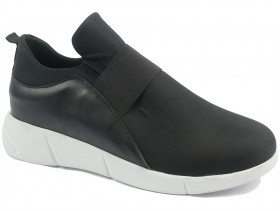 obuvki-Дамски обувки черни 10342