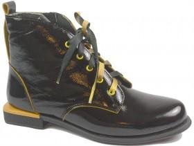 Дамски боти черни 10351 - obuvki