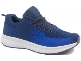obuvki-Мъжки обувки сини 10271
