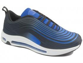 obuvki-Мъжки обувки сини 10286