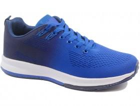 обувки-Мъжки обувки сини 10421