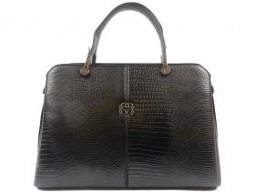 Дамска чанта черна 10433 - obuvki