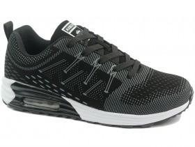 Мъжки обувки черни 10444