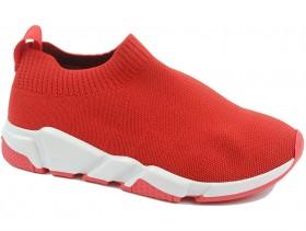 obuvki-Дамски обувки червени 10450