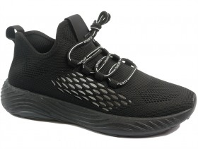 Мъжки обувки черни 10451 - obuvki