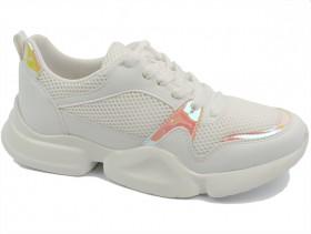 Дамски обувки бели 10456 - obuvki