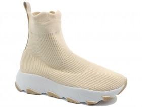 Дамски обувки бежови 10457