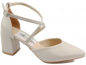 Дамски обувки бежови 10466