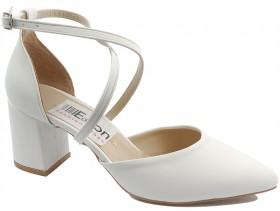 Дамски обувки бели 10468 - obuvki