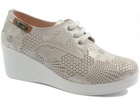 obuvki-Дамски обувки сребро 10478