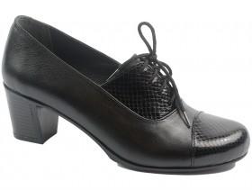 Дамски обувки черни 10505 - obuvki