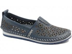 Дамски обувки сини 10544