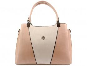 Дамска чанта пудра 10561 - obuvki